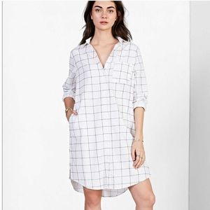 BDG for Urban Outfitters Windowpane Shirt Dress